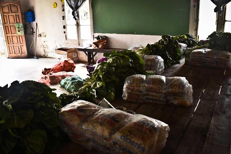 Otro reclamo de los comités barriales de emergencia por el recorte alimentario