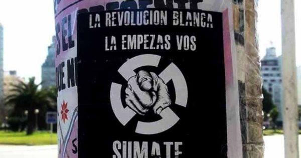 Denuncian la aparición de nueva propaganda neonazi en Mar del Plata