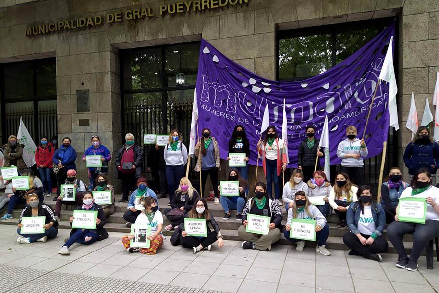 """Aborto legal: una """"sentada nacional"""" para exigir la ley, también en Mar del Plata"""