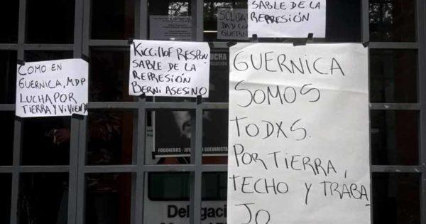 Ocupan el Instituto de la Vivienda de Mar del Plata tras el desalojo en Guernica