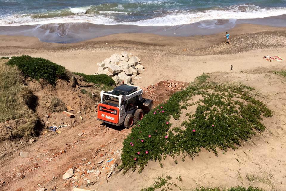 Verde Mundo: el balneario se comprometió a cerrar y limpiar la bajada ilegal
