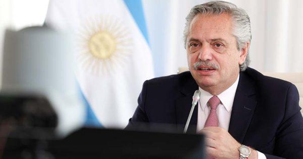 """Alberto Fernández en el G20: """"Estamos ante un verdadero cambio de época"""""""