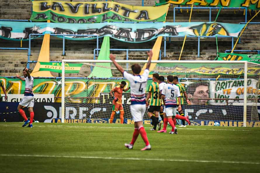 No fue la tarde de Aldosivi, que fue goleado por San Lorenzo