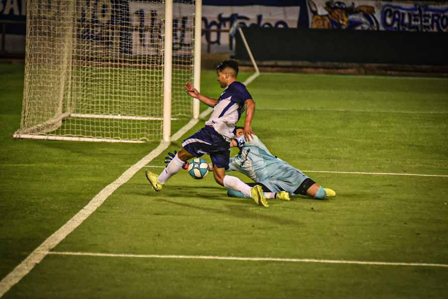 Alvarado sigue sin convertir y cayó por la mínima ante Deportivo Riestra