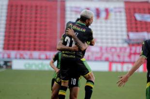 Aldosivi golpeó en un momento clave y se quedó con la victoria ante Estudiantes