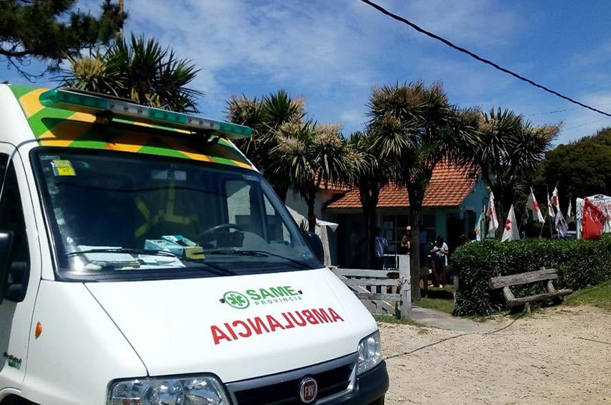 CAPS de Chapadmalal: buscan saber qué pasará con la ambulancia y el servicio médico