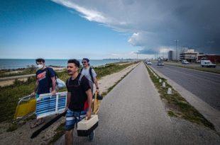Mar del Plata inicia su primera temporada de verano en pandemia