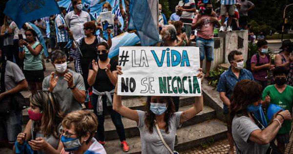 Mar del Plata también tuvo su movilización contra la legalización del aborto