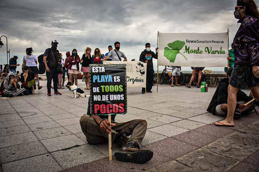 Un festival para reafirmar el reclamo por más playas públicas en Mar del Plata