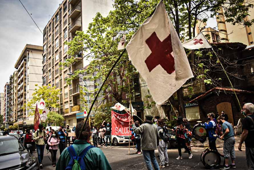 Chapadmalal sin ambulancia: reclamo, concentración y audiencia ante la Justicia