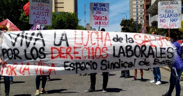Nueva protesta de enfermeros en reclamo por mayor reconocimiento y recursos