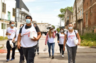 Operativo Detectar en Villa Lourdes: cinco vecinos dieron positivo en coronavirus