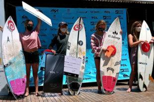 Surf: Leandro Usuna y Josefina Ané fueron los ganadores en la vuelta a la competencia