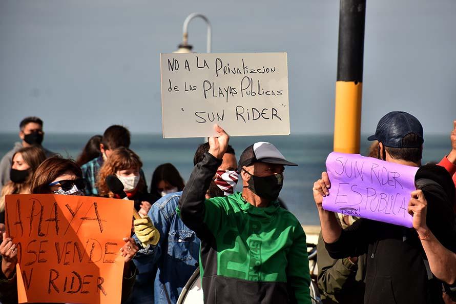 Playa Sun Rider: la asamblea vecinal llevó sus reclamos al Concejo Deliberante