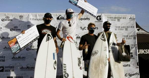 Leandro Usuna se consagró nuevamente campeón argentino de surf