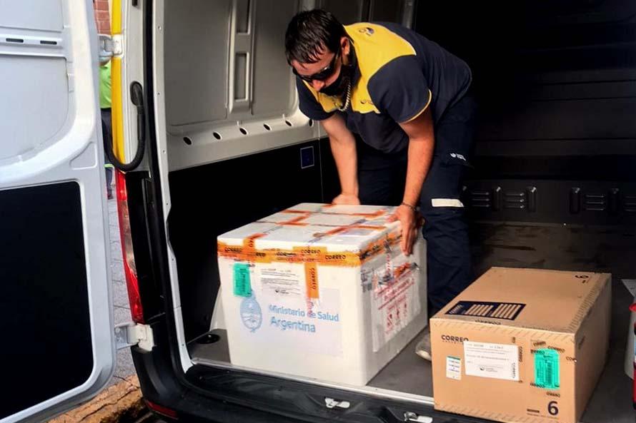 Vacuna contra el coronavirus: llegaron las primeras 900 dosis a Mar del Plata