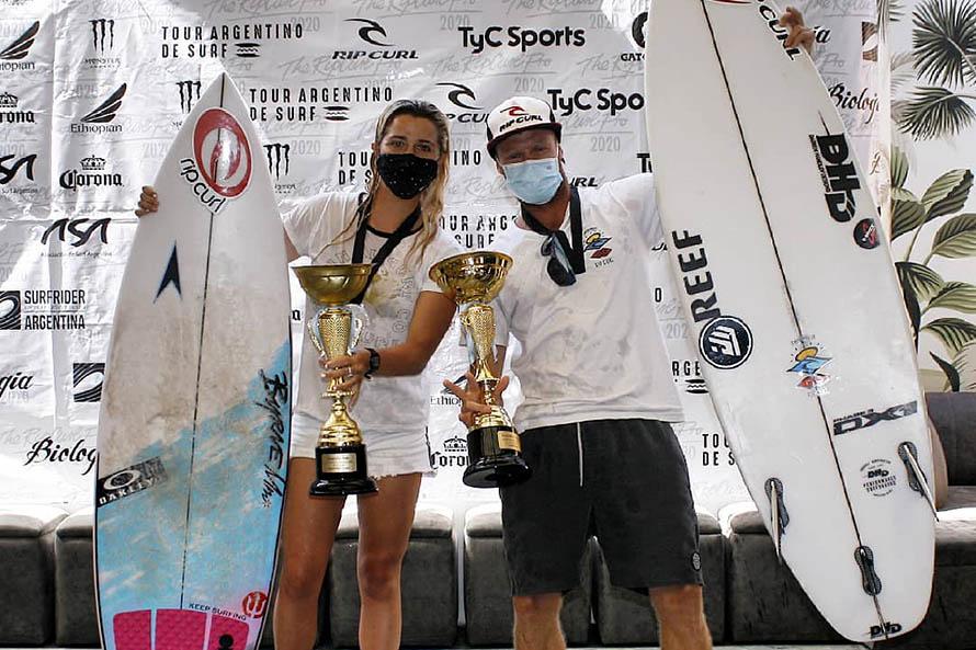Josefina Ané es la nueva campeona argentina de surf