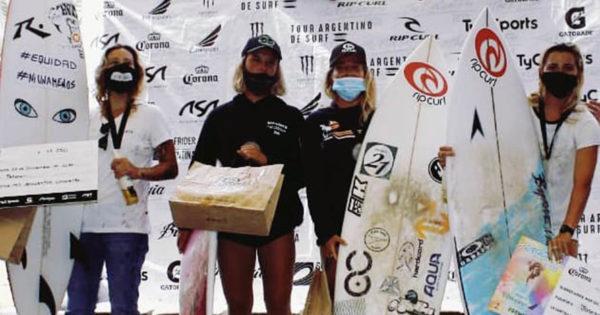 Surf: comenzó el Tour Argentino 2021, primera edición con igualdad de premiación