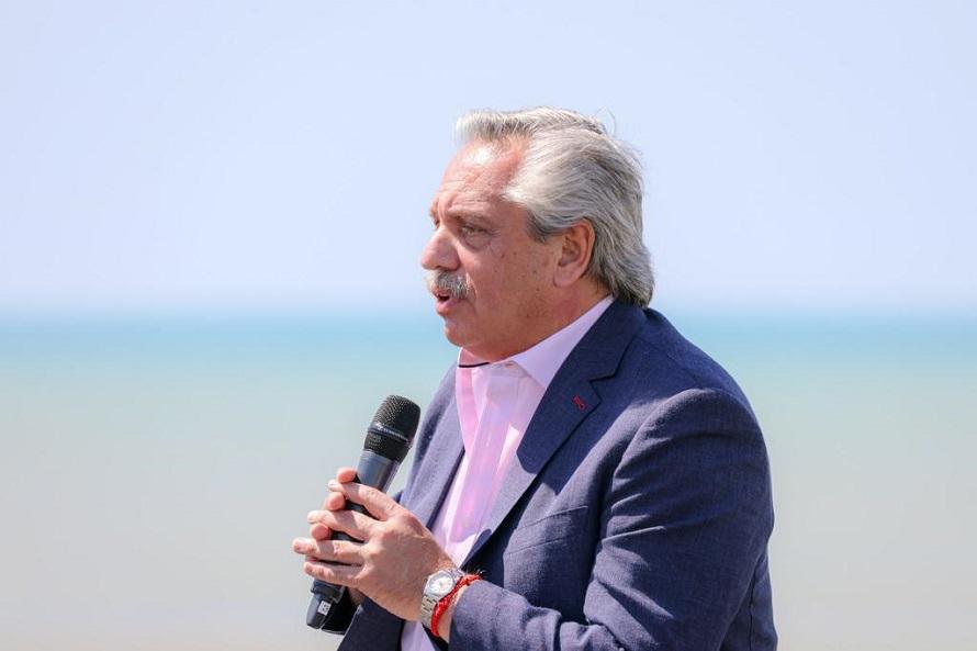 El presidente llegó a Mar del Plata para inaugurar las obras en la Casa del Puente