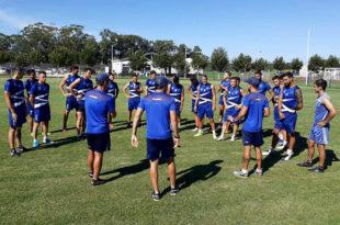 Alvarado retornó a los entrenamientos en la Villa Deportiva