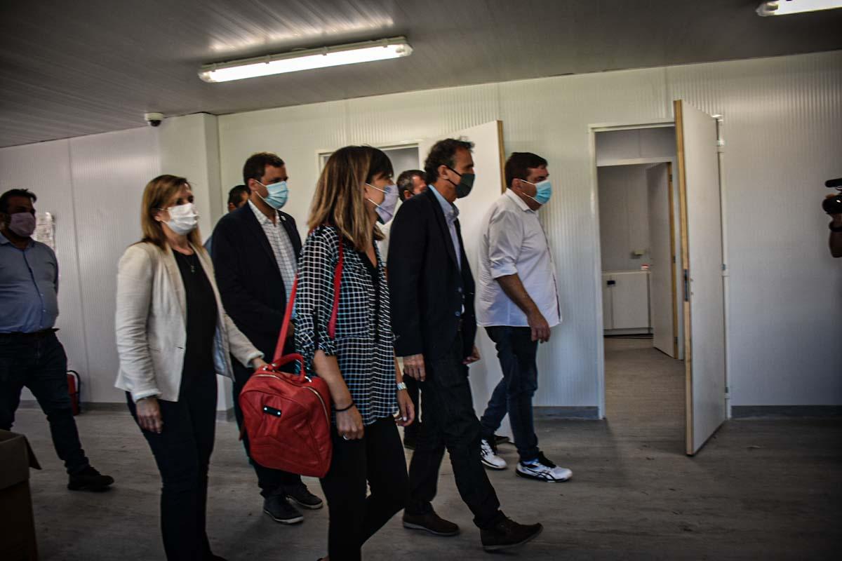 Katopodis recorrió la unidad sanitaria y anunció nuevos convenios con el Municipio