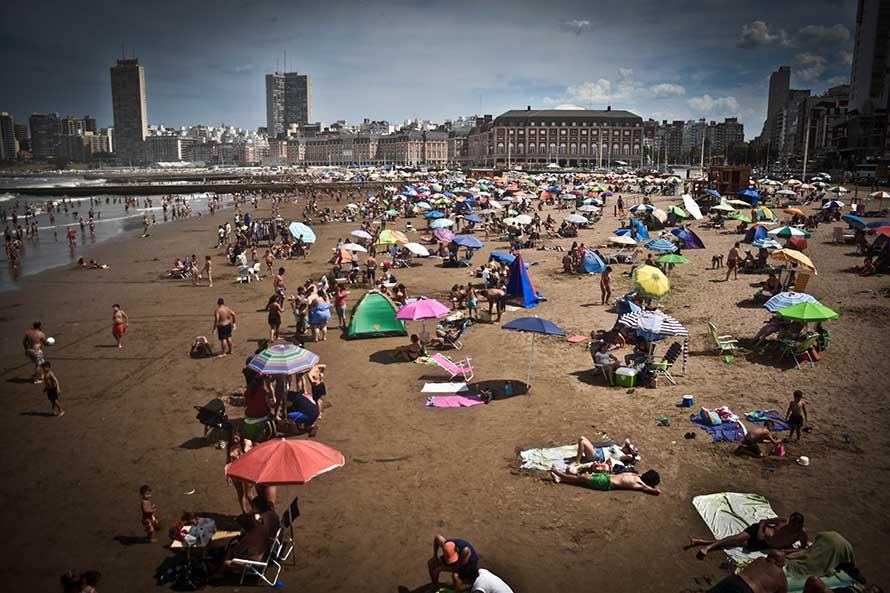 Sigue el sol y el calor: qué dice el pronóstico para Mar del Plata