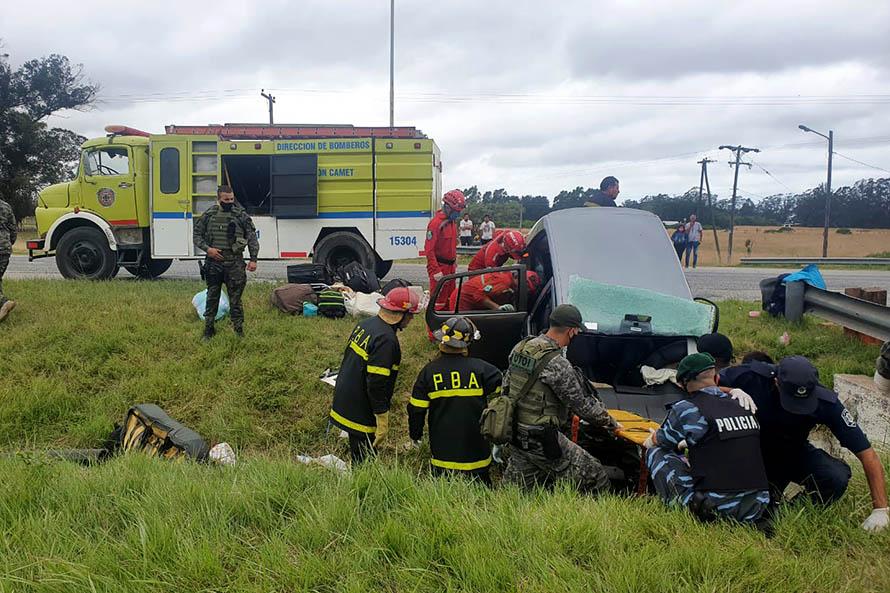Dos mujeres murieron en un accidente fatal en la Ruta 2