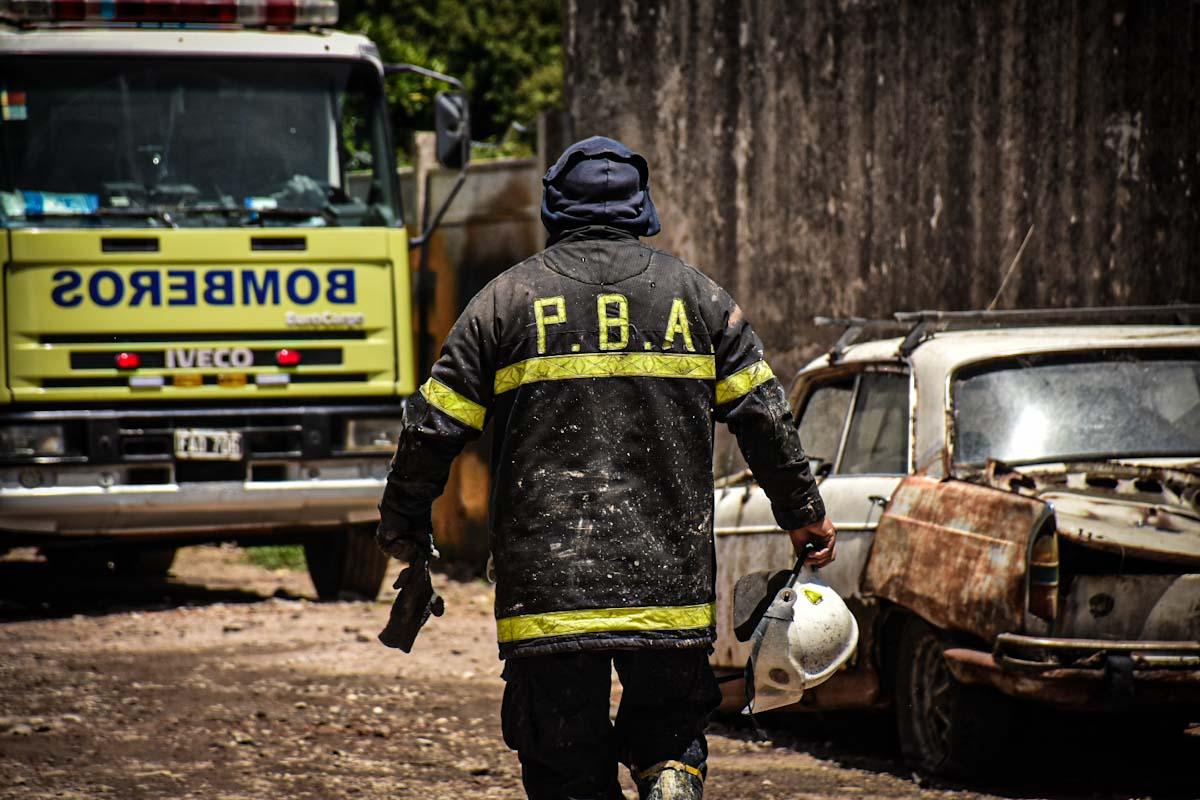 Incendios: un promedio de 25 salidas por día y otro pedido para tomar recaudos
