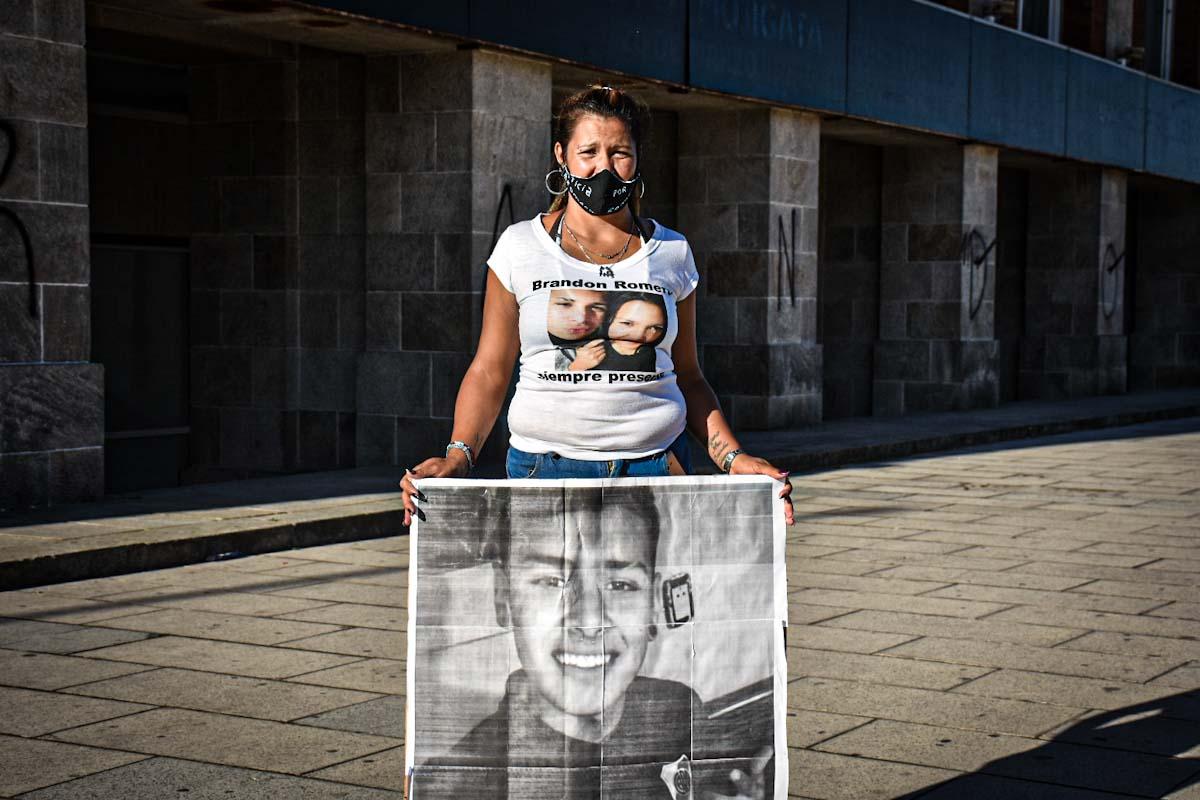 """Brandon Romero, a siete meses: """"Ya todo el mundo sabe que lo fusiló la policía"""""""