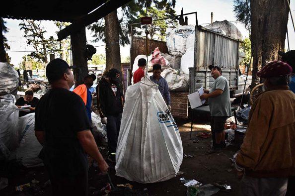 Recuperadores urbanos reclaman respuestas por incumplimientos del Emsur
