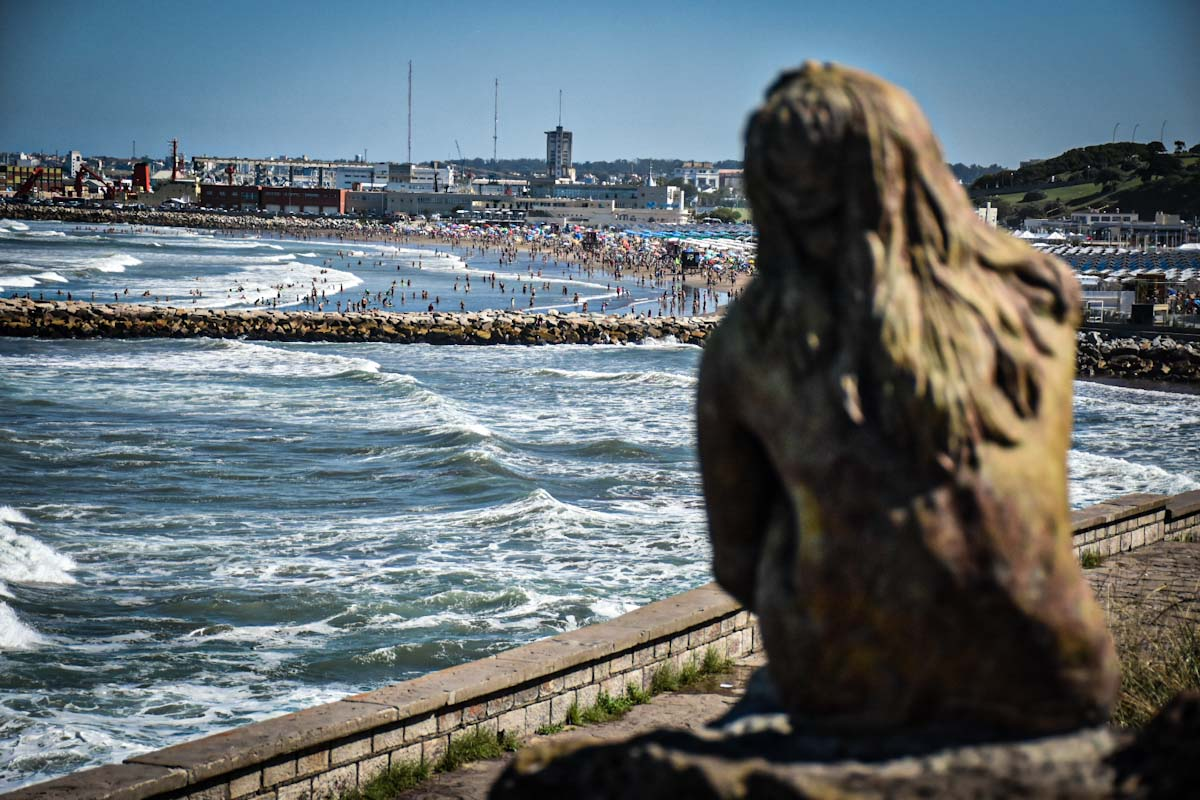 escultura mar del plata