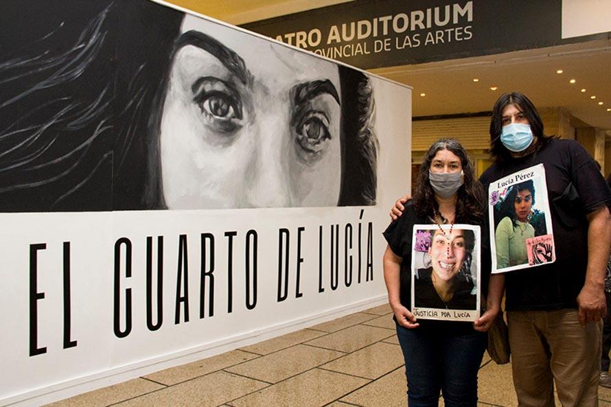 """""""El cuarto de Lucía, arte contra la violencia femicida"""" se podrá visitar hasta fin de mes"""