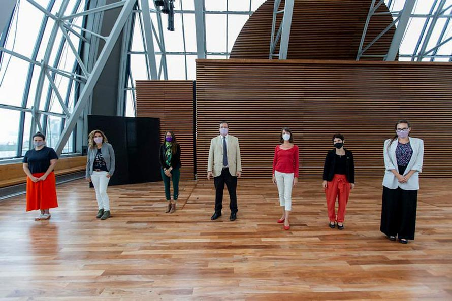 Lanzaron la convocatoria al premio Adquisición de Artes Visuales 8M