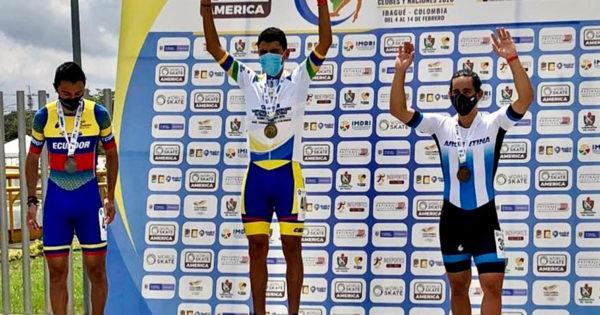 Patín: Ken Kuwada se trajo una medalla del Campeonato Panamericano de Colombia