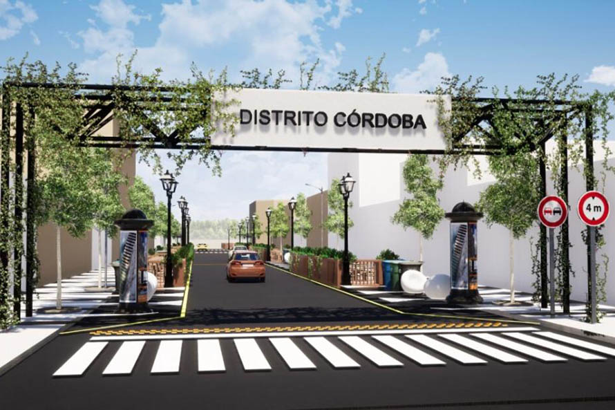 """Presentan proyecto para crear un """"distrito gastronómico"""" en la calle Córdoba"""