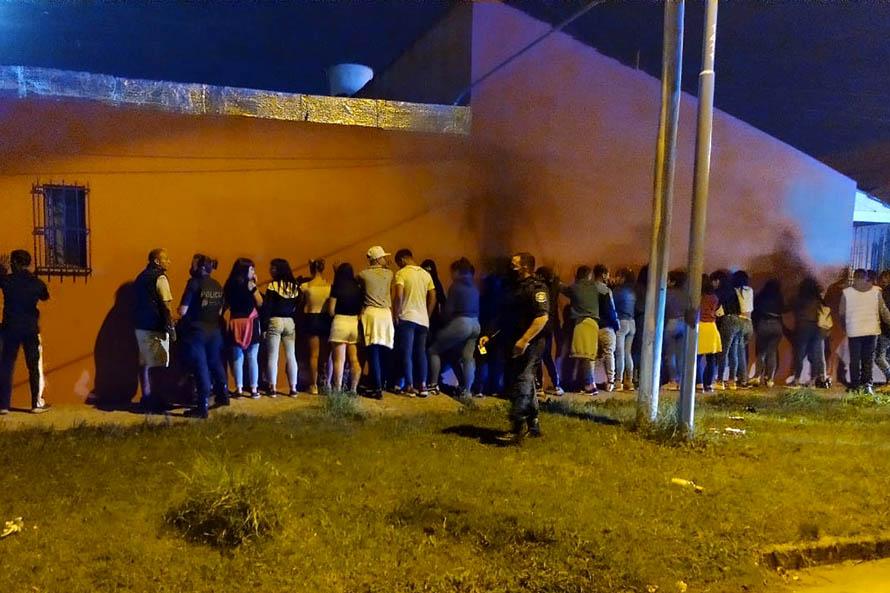 Desarticulan una fiesta clandestina en El Progreso: había 50 personas