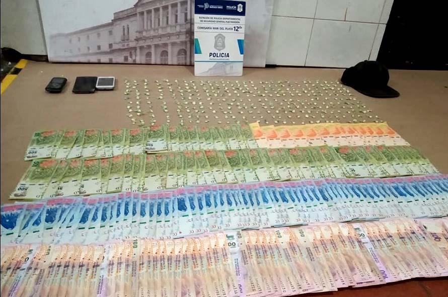 Baleó a un policía que le llevó una notificación y en la casa encontraron cocaína