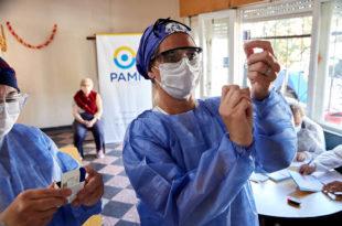Coronavirus: continúa la vacunación de PAMI en las residencias de Mar del Plata