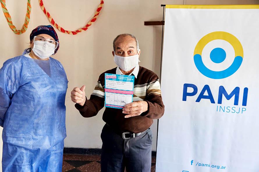 vacunación PAMI Mar del Plata