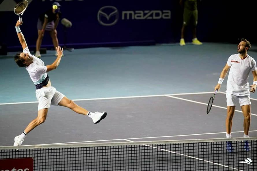 Tenis: Horacio Zeballos y Marcel Granollers, eliminados del Masters de Miami