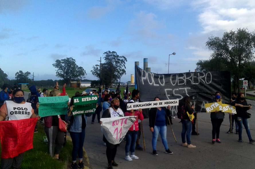 Sin boleto estudiantil en la empresa Costa Azul: protesta y reclamo en la Ruta 88