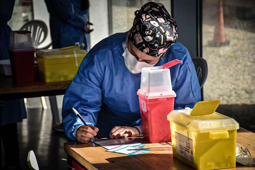 Los casos positivos de coronavirus en Mar del Plata