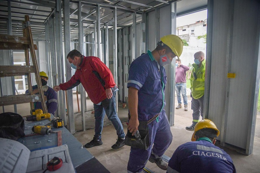 SAME: avanza la construcción de la nueva base y la incorporación de tres ambulancias