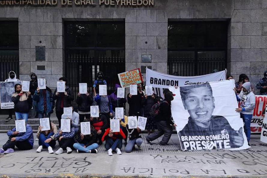Brandon Romero: la familia volvió a marchar a ocho meses de su asesinato