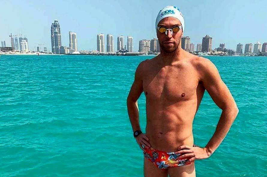 Gran labor de Ivo Cassini en la Copa del Mundo de aguas abiertas en Doha