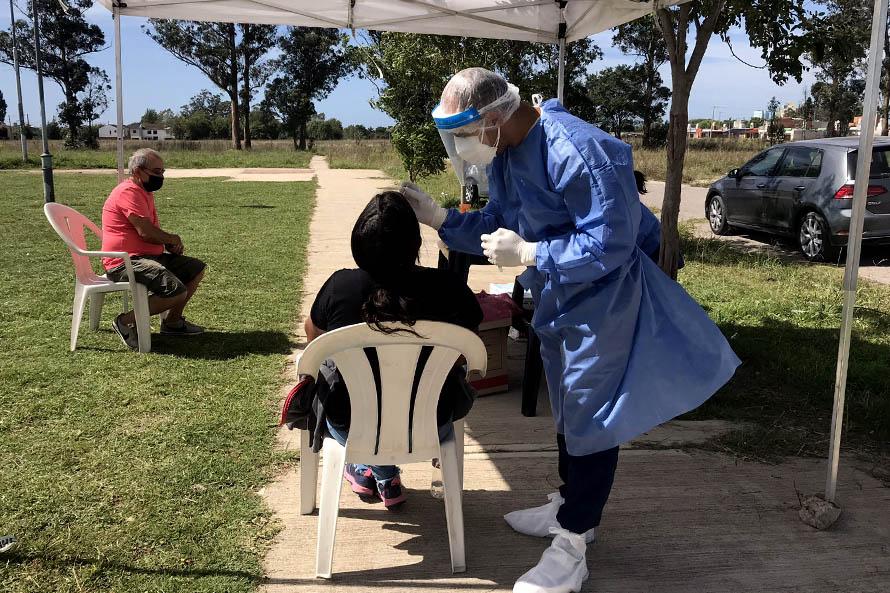 Coronavirus: la Secretaría de Salud halló cuatro casos positivos en Belisario Roldán