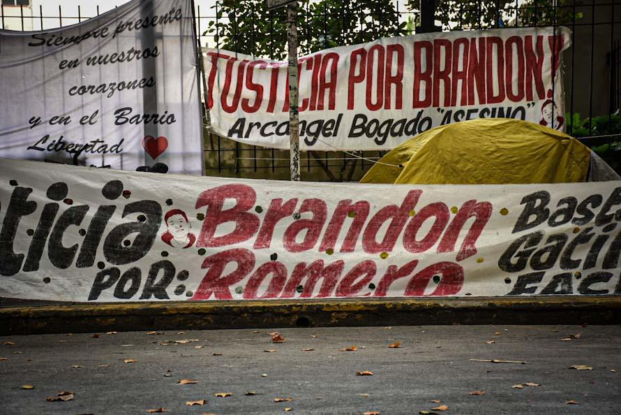 Homicidio de Brandon Romero: la familia formalizó el pedido de elevación a juicio