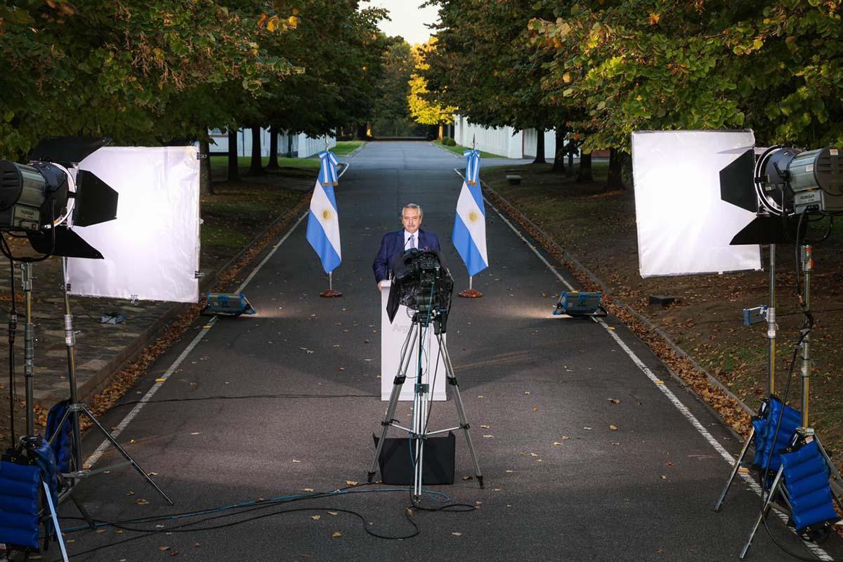 Alberto Fernández anunció nuevas medidas de restricción ante la segunda ola
