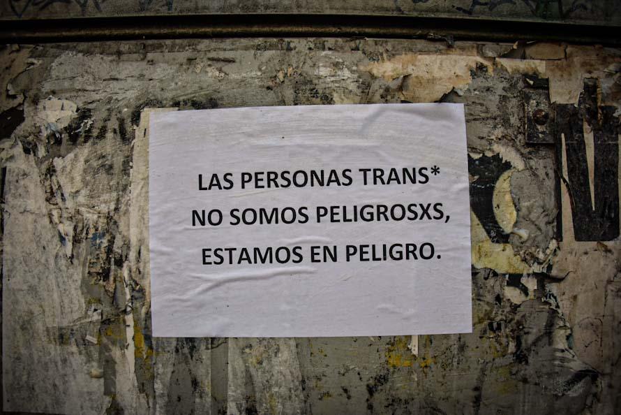 """Una serie de propuestas para articular """"seguridad"""" con inclusión de personas trans"""