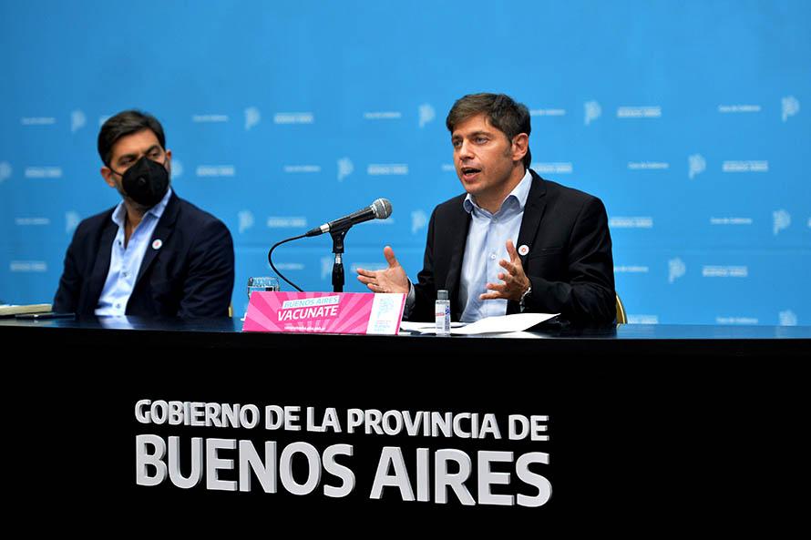 """Restricciones: Kicillof ratificó que la Provincia """"va a adherir al decreto nacional"""""""